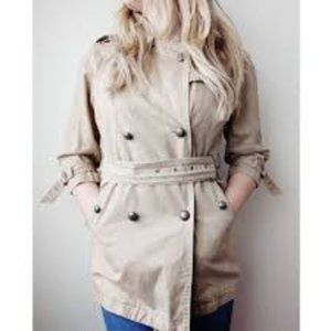 Free People We the Free Belted khaki Trench coat